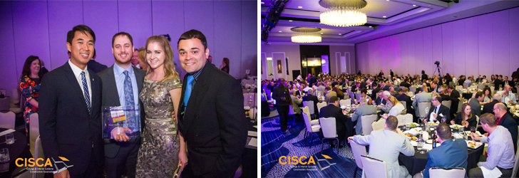 CISCA 2016 Convention awards ceremony